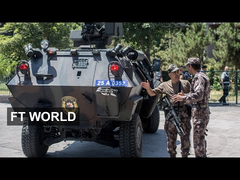Turkey post coup arrests widen | FT World