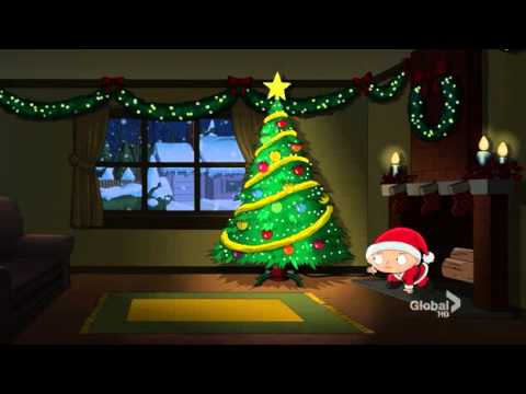 Family Guy 2010 Christmas Special Best Scene (Brian & Stewie try to be Santa)