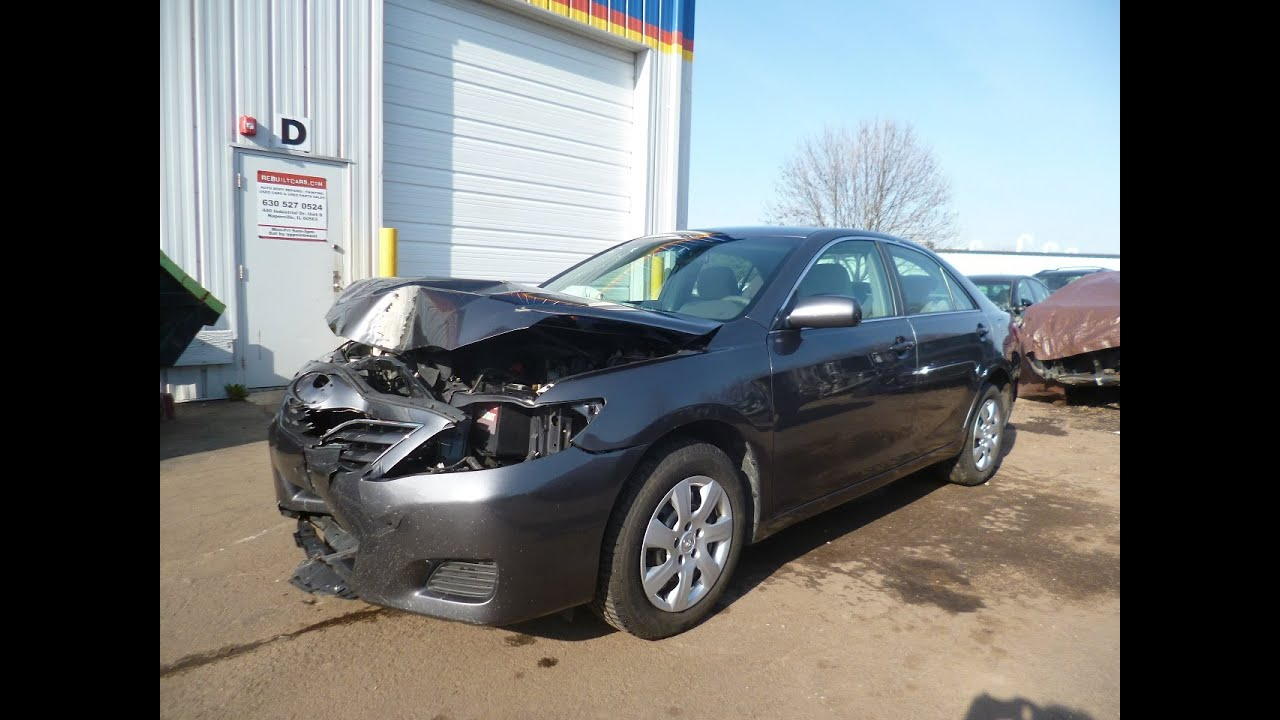 2011 Toyota Camry 85K miles clear title repairable salvage car for