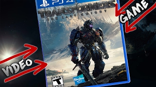 Canceled Transformers 5 Video Game!!? 2017-2019 Transformers Games