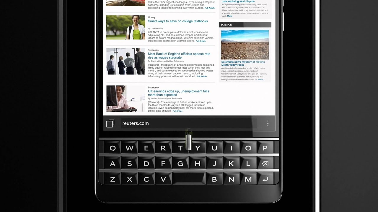 Blackberry Passport For At&t €� Work Wide