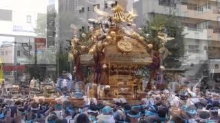 富岡八幡宮 6年ぶり大神輿2015