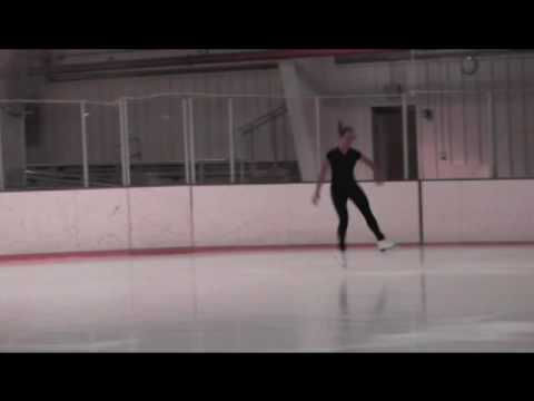 Dana Harper Ice Skating Audition Video