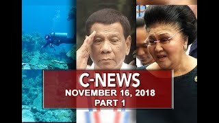 UNTV: C-News (November 16, 2018) PART 1