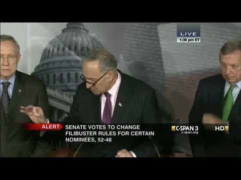 Thank You Chuck: Schumer Says That POTUS Deserves To Have His Picks To Run Exec Agencies