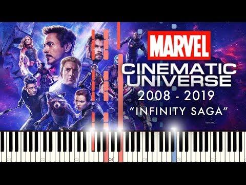 Marvel Studios (INFINITY SAGA) - The Piano Medley