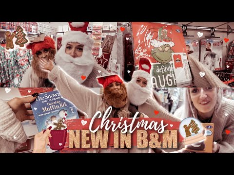 *NEW IN* B&M CHRISTMAS 2019! COME SHOPPING WITH US!! | Gemma Louise Miles