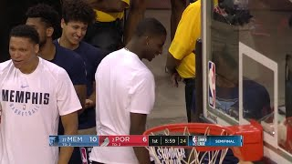 1st Quarter, One Box Video: Portland Trail Blazers vs. Memphis Grizzlies