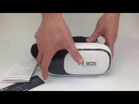 VRBox Virtual Reality Headset w/Bluetooth Controller