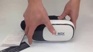 vrbox virtual reality headset w bluetooth controller