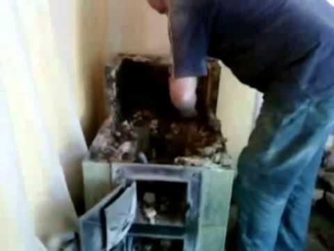 Zdun I Piec Kaflowy Odnowa Przebudowa Reconstruction Of The Tiled Stove