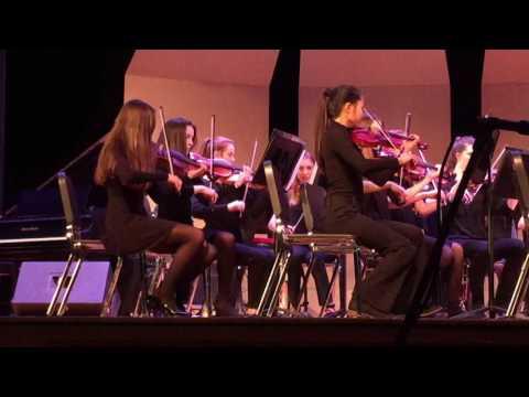 Saratoga HS Chamber Orchestra 12/7/2016