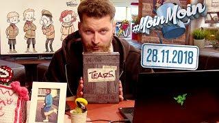 T.E.A.R.S. Unboxing & Infos zu neuen Abenteuern und neuen Boxen | MoinMoin mit Hauke
