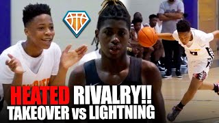 HEATED 7TH GRADE R VALRY Takeover Vs NY Lightning Was BACK \u0026 FORTH To Start Jr Peach State