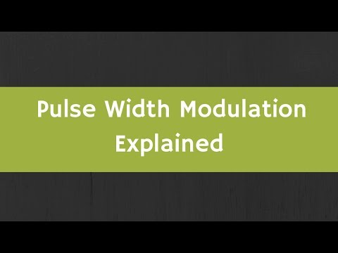 What is Pulse Width Modulation? How to generate PWM signal ? Pulse Width Modulation Explained