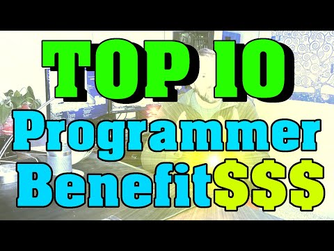 Top 10 Programmer Benefits