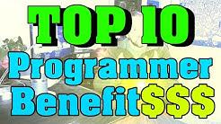Top 10 Programmer Benefits