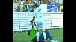 Soccer Player Gets Angry At Another One For Faking Injury
