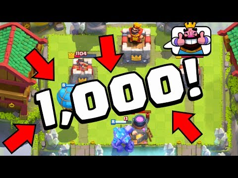 Clash Royale Qualifiers - 1,000 Player Tournament for the PEKKA! FA ToC Week 6!