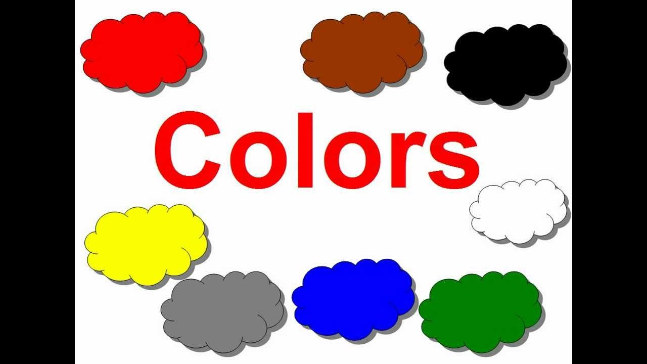 Английский для детей. цвета