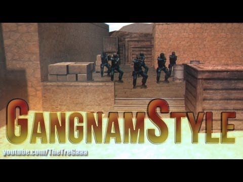 PSY Gangnam Style by TreGaaa [CounterStrike: Source]
