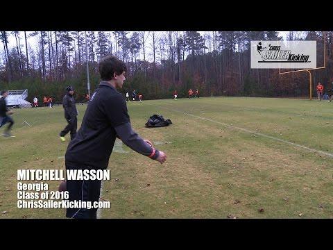 Mitchell Wasson - Kicker