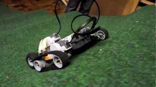 Lego NXT Roboter robot Hillclimbing