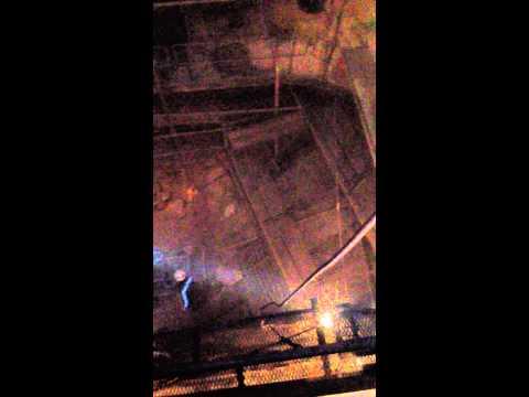 Công việc làm sạch và vệ sinh trong két dầu thải Slop Tank của Tàu FSO Vi