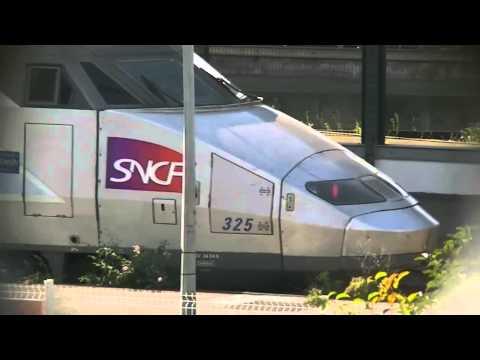 TGV Tren de alta velocidad Francés.