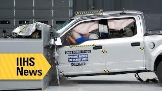 First IIHS test of aluminum-body F-150 - IIHS News