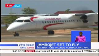 Jambojet set to resume flights to 5 local destinations as air travel resumes 15th July