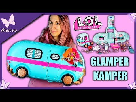 !!!WOW!!! 💙 GLAMPER LOL SURPRISE 💙 NOWOŚĆ 2019 💙 Unboxing z lalkami OMG Marivobox odc.74