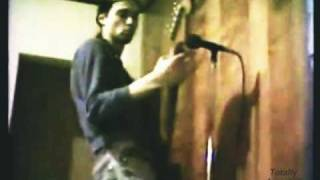 Kurt Cobain - Earliest Known Video of Nirvana [Mr. Mustache]  [Remastered / Rare]