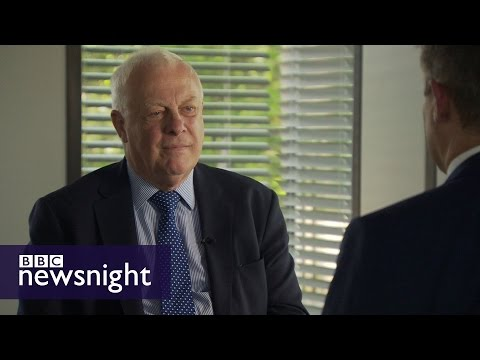 """Lord Patten: Boris Johnson """"confuses fact and fiction"""" - BBC Newsnight"""