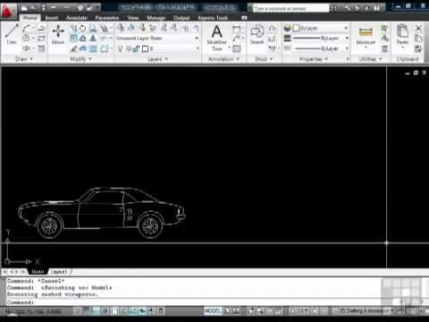 Papercraft AutoCAD Model space and Paper Space Tutorial
