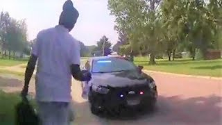Hilarious: Man robs a cop and gets away with it!!!