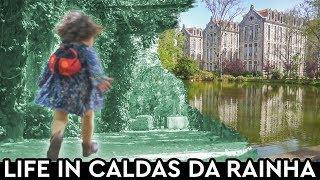 Life In Caldas Da Rainha 👑 Cafe ☕ Parks 🏞️Market 🍋
