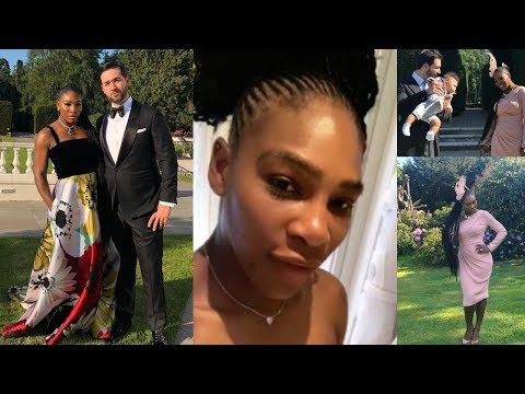 Beautiful: Serena Williams Road To The Royal Wedding With Husband Alexis Ohanian & Daughter Olympia
