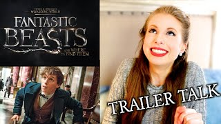 FANTASTIC BEASTS AND WHERE TO FIND THEM TRAILER REACTION