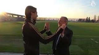 El buen rollo entre Florentino y Sergio Ramos Benzema HD Futbolero2012HD1