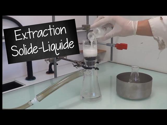 Extraction solide-liquide