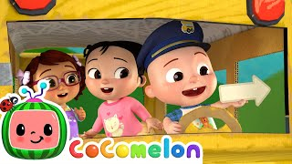 Learning Directions Song | CoComelon Nursery Rhymes & Kids Songs