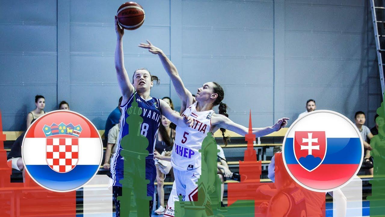 Croatia v Slovakia - Class. Game 15-16 - Full Game