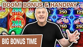 💣 BOOM! Bonus & Handpay 🤑 Rising Fortunes + Mighty Cash = HUGE CASINO FUN