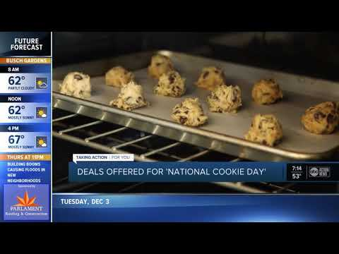 Mike Dellinger - Nation Cookie Day! Want to Pick up Some COOKIES on the Way Home! 3:30pm +