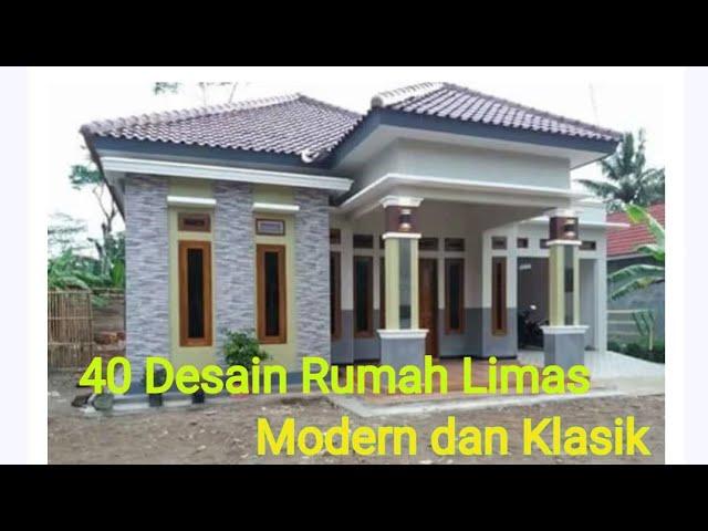 40 Desain Rumah Limas Modern Dan Klasik 2020 Part2 Youtube