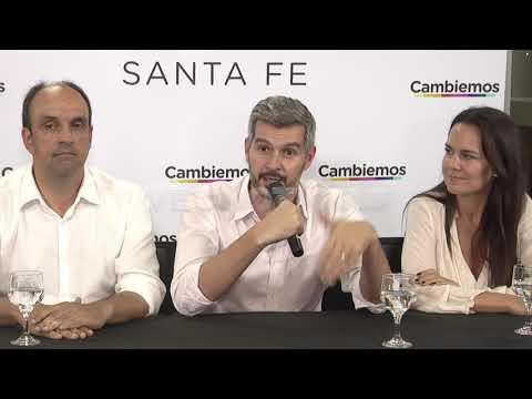 Marcos Peña respaldó a los candidatos de Cambiemos