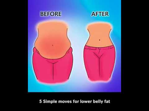 5 Simple Ways To Reduce Belly Fat - YouTube