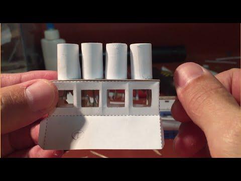 4 Cylinder paper engine