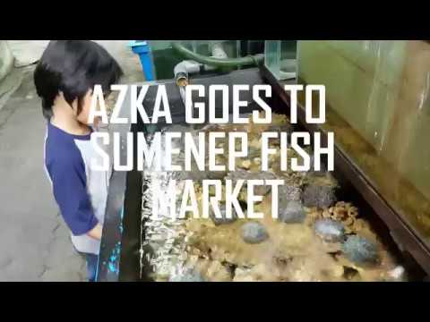 AZKA GOES TO SUMENEP FISH MARKET ^JAKARTA